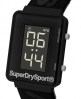 Superdry Montre Gym Sprint Noir