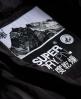 Superdry Cazadora Glacier Biker Negro