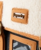 Superdry Fur Super Satchel Grey