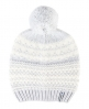 Superdry Nordic Pattern Bobble Hat  Grey
