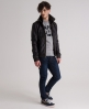 Superdry Ryan Leather Bomber Brown