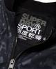 Superdry Cazadora bómber metalizada SD-X  Negro