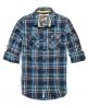 Superdry Lumberjack Twill Shirt Navy