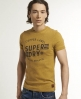 Superdry Gunnison T-Shirt Yellow