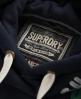 Superdry Appliqué Hoodie Navy