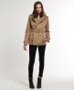 Superdry Cropped Super Raincoat Beige