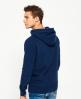 Superdry Tonales Vintage Authentic Hoodie Marineblau
