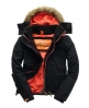 Superdry Arctic Fur Windcheater Black