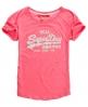 Superdry Vintage Oversize T-shirt Pink