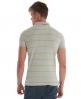 Superdry single stripe polo Light Grey