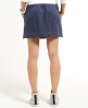 Superdry Commodity Zip Mini Skirt Navy