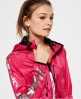 Superdry Chubasquero Core Effect  Rosa