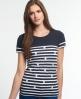 Superdry Daisy Breton T-shirt Navy