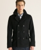 Superdry Commodity Pea Coat Black