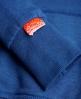 Superdry Vintage Logo Hoodie Blue