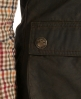 Superdry Waxed Fly Weight Weste Grün