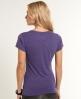 Superdry Crude Curl T-shirt Purple