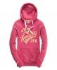 Superdry Saints Hoodie Pink