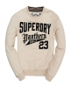 Superdry Panthers Field Crew Brown