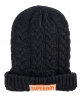 Superdry oversized cable beanie Grey