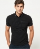 Superdry City Tipped Field Polohemd Schwarz
