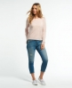 Superdry Essential Lace Slouch Shirt Pink