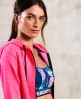 Superdry SD Sport Gym Tech Luxe Zip Hoodie Pink