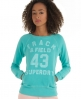 Superdry Fall Back Crew Green