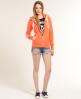 Superdry Neon Zip Hoodie Orange