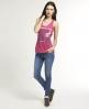 Superdry Twing Grindle Vest Pink