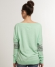 Superdry Double Number T-shirt Green