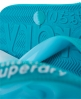 Superdry Faded Flip Flops Green