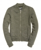 Superdry Cazadora Orange Label Micro Jersey Luxe Bomber Verde