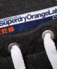 Superdry Orange Label Slim Joggers  Dark Grey