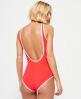 Superdry Varsity '09 Swimsuit Red