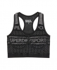 Superdry Gym Seamless BH  Schwarz