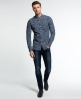 Superdry Shoreditch Button Down Shirt Navy