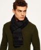 Superdry Surplus Goods Ombre Scarf Grey