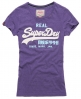 Superdry Vintage Logo T-shirt Purple