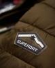 Superdry Cazadora con cremallera doble y capucha Fuji Slim  Verde