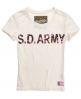 Superdry SD Army T-shirt Cream