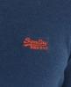 Superdry Orange Label Crew Neck Blue