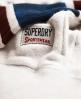 Superdry Varsity Slouch Hoodie  Grau