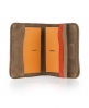 Superdry Logo Passport Holder Brown