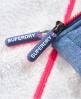 Superdry Veste à capuche Sherpa SD-Windtrekker Bleu
