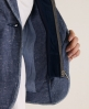 Superdry Breton Blazer Blue