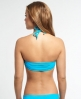 Superdry Santorini Bandeau Bikinitop Blau