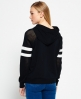 Superdry College Drop Hoodie Black