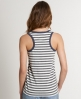 Superdry Contrast Stripe Vest Dark Grey