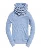 Superdry Top à col cheminée Nordic Bleu